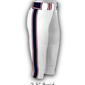 "2.5"" Braid Pants"