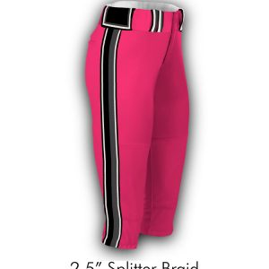"2.5"" Splitter Braid Pants"